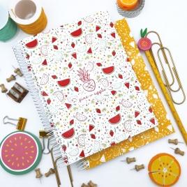 Caderno Fruta Amarela A5