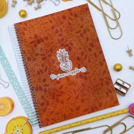 Caderno Folhas A5