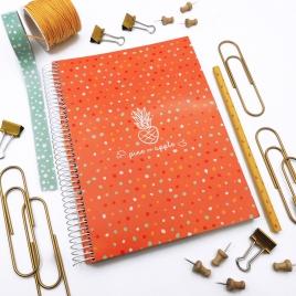 Caderno Color Laranja