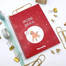 Caderno Unicórnio