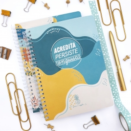 Caderno Yellow Jungle