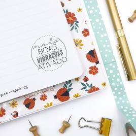 Caderno Flowers
