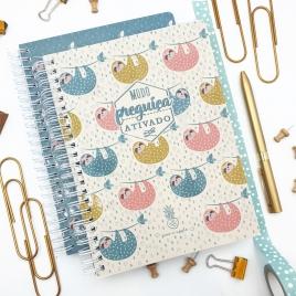 Caderno Preguiça Ativado