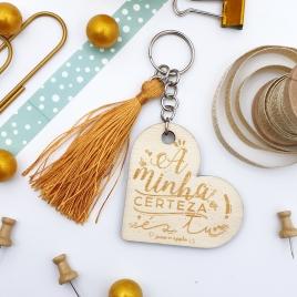 Porta-chaves Dia dos Namorados