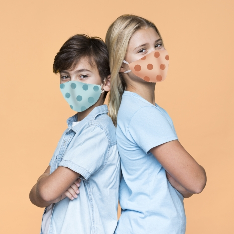 Máscara regresso às aulas 20-21 (bico de pato)