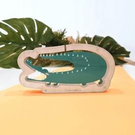 Mealheiro Crocodilo