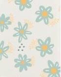 padrão flor azul