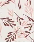 Padrão folha rosa